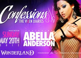 Abella Anderson, Claudia Sampedro, Jasmin Cadavid, and Rachel Star in Miami at Wonderland May 20th