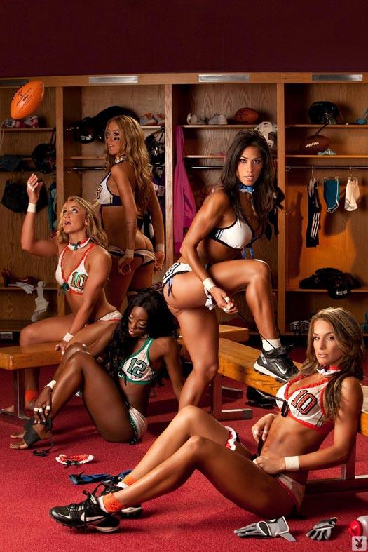 Lingerie Football League x Playboy – on DSAfterDark.com