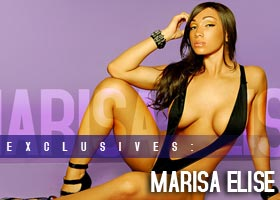 Marisa Elise @MsMarisaElise: Purple Swag – IEC Studios