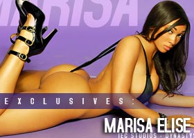 More Pics of Marisa Elise @MsMarisaElise: Purple Swag – IEC Studios