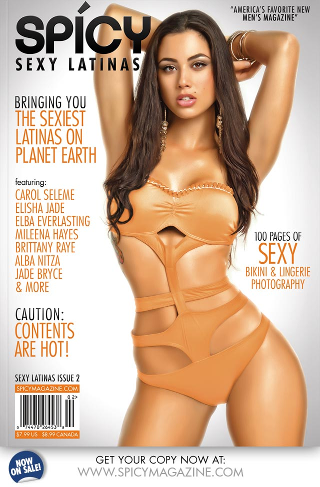 Carol Seleme @selemecarol – Spicy Magazine Issue 2 Preview