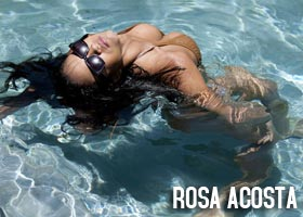 Rosa Acosta @RosaAcosta Shoots for 9Five Eyewear