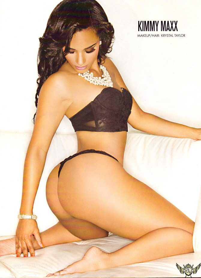Kimmy Maxx @KimmyMaxx in Blackmen Magazine