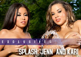 Frank D Photo presents SPLASH: Kari Lopez @Kariliciouz and Jenn Jerez @JennJerez
