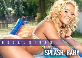 Frank D Photo presents SPLASH: Baby @Uniqueebee – Artistic Curves