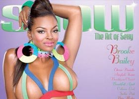 Brooke Bailey @BrookeBaileyInc on the cover of SHOW Magazine