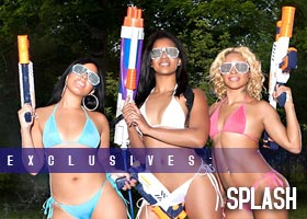Frank D Photo presents SPLASH: Uniquee Bee @Uniqueebee Nicole Zavala @Neebabyx3 Cheku @Jadorechels