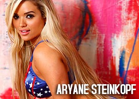 Aryane Steinkopf @AryaneOficial – Stars and Stripes