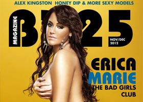 Erica Marie @Venetiabella of BGC8 on the cover of BX25 Magazine – 2020 Photography