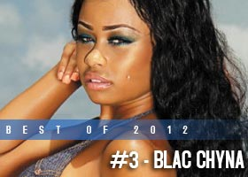 Best of 2012: #3 – Blac Chyna @blacchyna_mia in Dimepiece Magazine