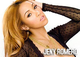 Jeny Romero @RealJenyRomero in Black Lingerie – Magazine Scans