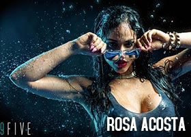 Rosa Acosta @RosaAcosta – 9Five Lookbook Outtakes