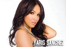 Yaris Sanchez @Yaris_Sanchez  in Black Lingerie – Magazine Scans