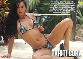 Tahiti Cora @tahiticora in American Curves