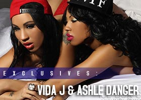 Ashle Danger @AshleDanger and Vida J @ModelVidaJ: Double Trouble – Ice Box Studios