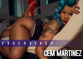 Gem Martinez aka Blue Gem @Blu_Gem_ – Introducing – Aderon Mothersill