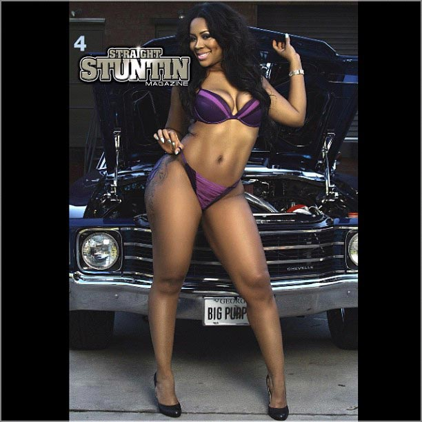 Deelishis @IamDEELISHIS, Yami Doll @Yami_D0ll, and Danny J on cover of Straight Stuntin