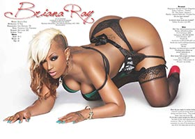 Briana Ray @TheBrianaRay in Blackmen Magazine – 2020 Photography