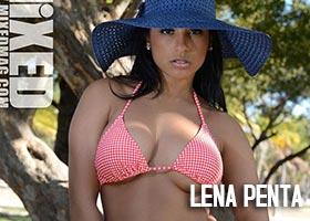 Lena Penta @LenaPenta in Mixed Magazine