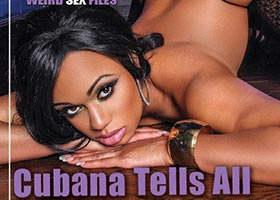 Cubana Lust @cubanalust on cover of Assets Magazine