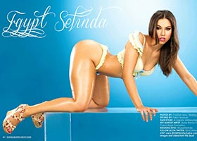 Egypt Selinda @EgyptSeLinda in lastest issue of SHOW Magazine