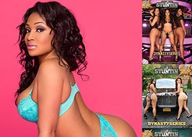 Kyra Chaos @KyraChaos in DynastySeries Issue of Straight Stuntin