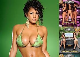 Rosa Acosta @rosaacosta in DynastySeries Issue of Straight Stuntin