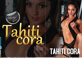 Tahiti Cora @TahitiCora on the cover of Modelz View Magazine