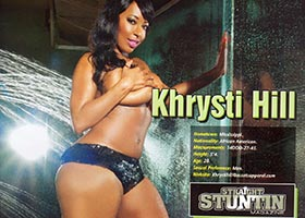 Khrysti Hill @KhrystiHill in Issue 26 of Straight Stuntin – Rho Photos