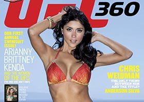 Arianny Celeste and Friends in UFC 360 Magazine