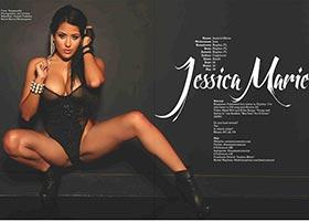 Jessica Marie @onejessicamarie in Blackmen Magazine – Facet Studio