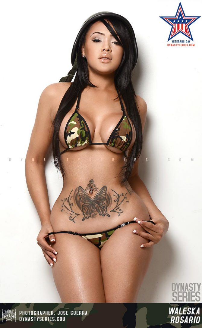 Warleska Rosario @chinadallxoxo – Veterans Week: Salute the Troops – Jose Guerra