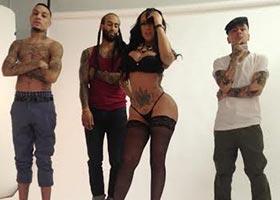 Warleska Rosario @chinadallxoxo – Behind the Scenes – Urban Ink Magazine – Arabelle Modeling