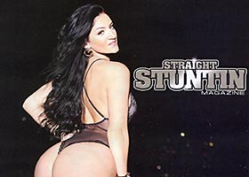 Rosee Divine @FrenchRosebud in Straight Stuntin Issue #31