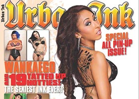 Wankaego @wankaego on cover of Urban Ink