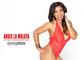 Angie La Mulata @angielamulata: Three Times The Charm – Dynasty Photos