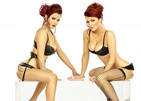 Carla Howe @carlahowe and Melissa Howe @Melissahowe1990 in SHOW Magazine