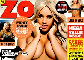 Lateysha Grace @LateyshaValleys in Zoo Magazine