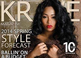 Lashontae Heckard @taeheckard on cover of Krave Magazine – Jessy J Photo