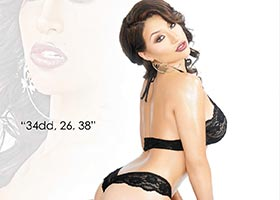 Lela Knocks @LelaKnocks in Black Lingerie #20