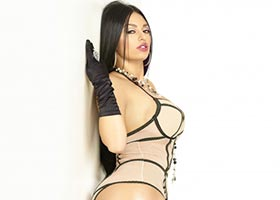 Stephany Romero @bolivian__barbie @BolivianbarbieP in Black Lingerie #19