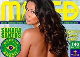 Sahara Santos @saharasantos in Mixed Magazine
