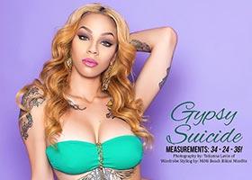 Gypsy Suicide @Gypsy_Suicide in SkinTight Magazine – TL Glam Studio