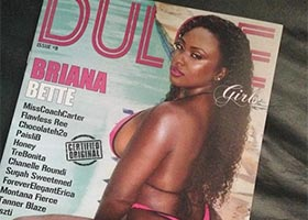 Briana Bette @brianabette on cover of Dulce Magazine