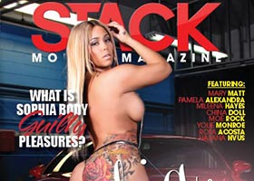 Sophia Body and Waleska Rosario on cover of Stacks Models Magazine