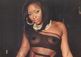 Tierra Campbell @RealTierra in Straight Stuntin Issue #33