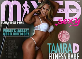 Tamra D @tamra__d in Mixed Magazine