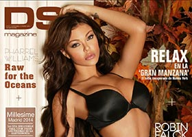 Vivian Kindle on cover of DSS Magazine