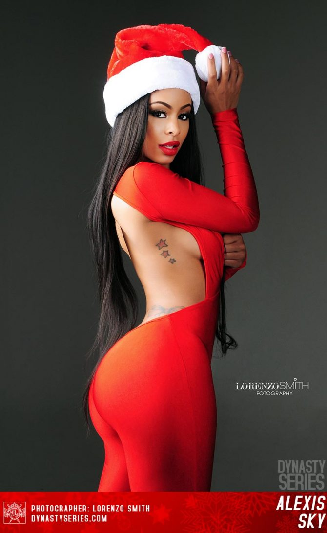 Alexis Sky @alexiis_skyy: And This Christmas – Lorenzo Smith and Booked By Molo