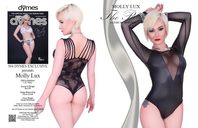 Molly Lux @mollylux – 504 Dymes Tribute Issue – C.E. Wiley